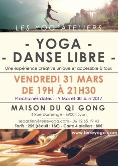 Prochain atelier Yoga et Danse Libre à Lyon